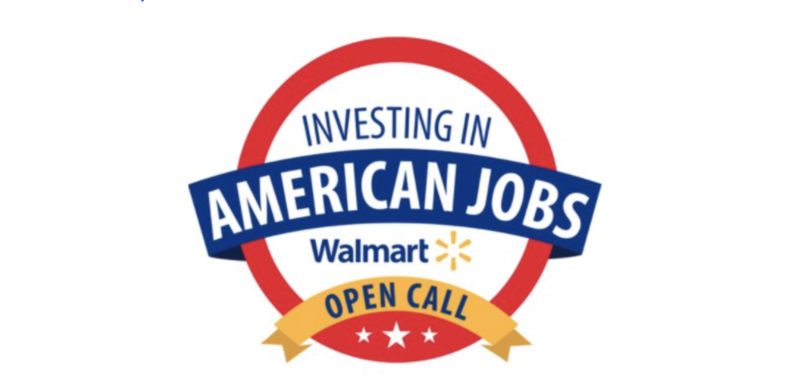 Walmart 6th Annual Open Call for U.S. Sourced Products